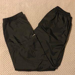 Vintage 90s Nike Nylon Drawstring Jogger Pants